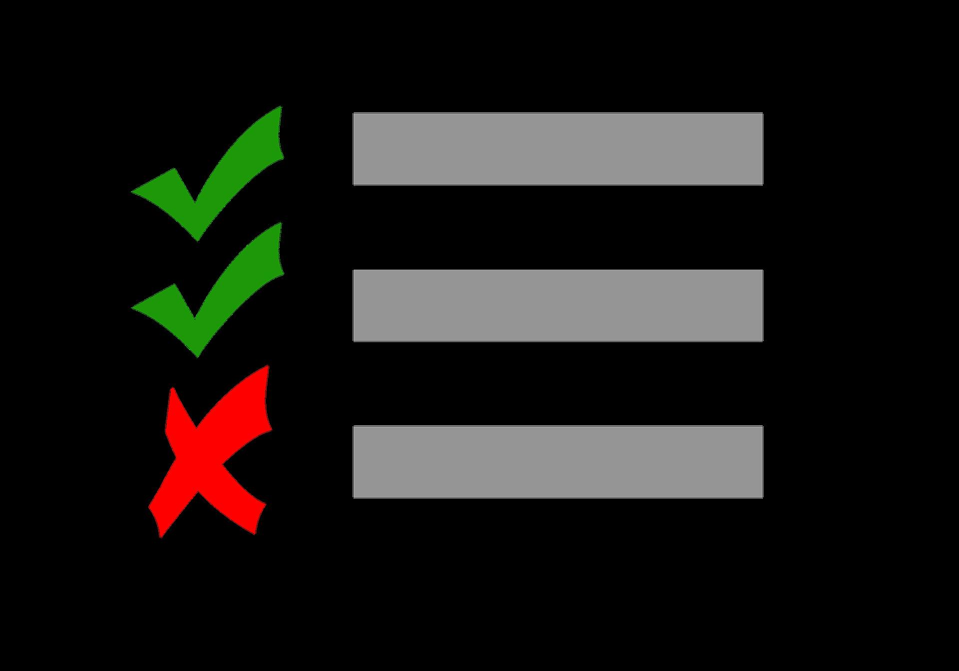 liste de priorite site internet